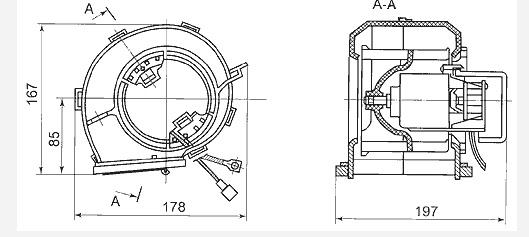 Мотор печки ваз 2108 на ниву чертежи
