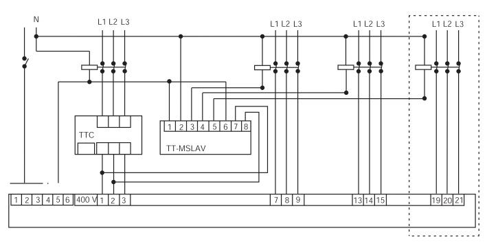 Совент.ру - Схема подключения TT-MSLAV.
